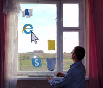 Windows Fenster - Kein Internet Spaßbilder