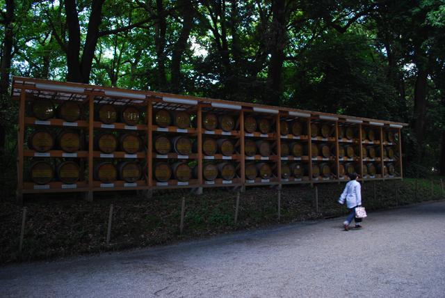 Sake Barrel at Meiji Jingu Shrine. Tokyo Consult. TokyoConsult.
