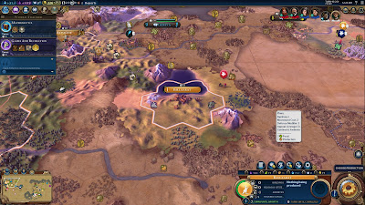 Screenshot of Sid Meier's Civilization VI