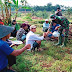 Satgas TMMD 109 Jalin Keakraban dengan Warga Jatiwarno