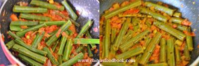drumstick poriyal recipe