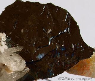 ヘマタイト 赤鉄鉱 Hematite Imilchil Morocco