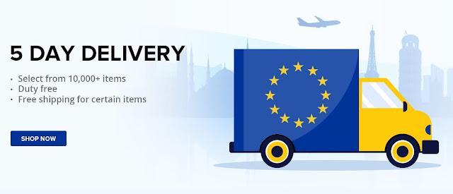 5 Dias de Entrega - Grande promoção de armazéns Europeus na Geekbuying