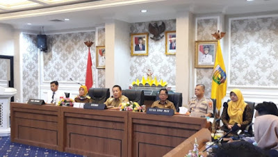 Gubernur Arinal Bahas Covid-19 Bersama OPD Terkait