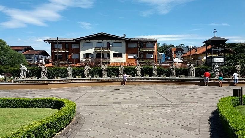 Praça Major Nicoletti - Gramado - Rs
