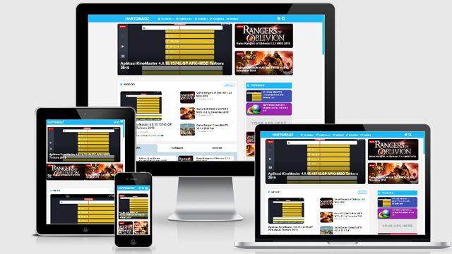 Template Hartomagz Blogger