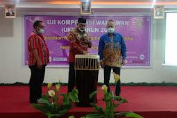 Murad Ismail Buka Pelaksanaan UKW PWI Maluku Tahun 2021