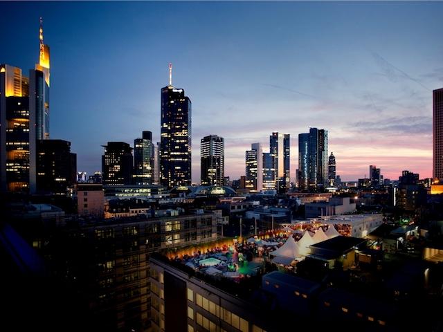 Frankfurt no horário de verão