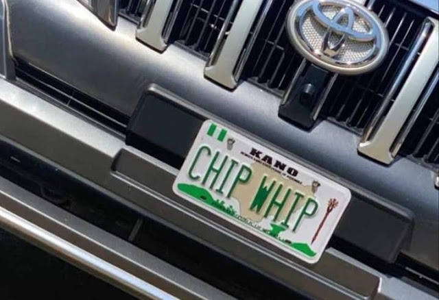 FRSC Disowns 'Chip Whip' Number Plate, Gives Instruction To Punish Offenders