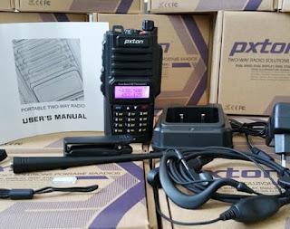 cara setting ht pxton px 8600p