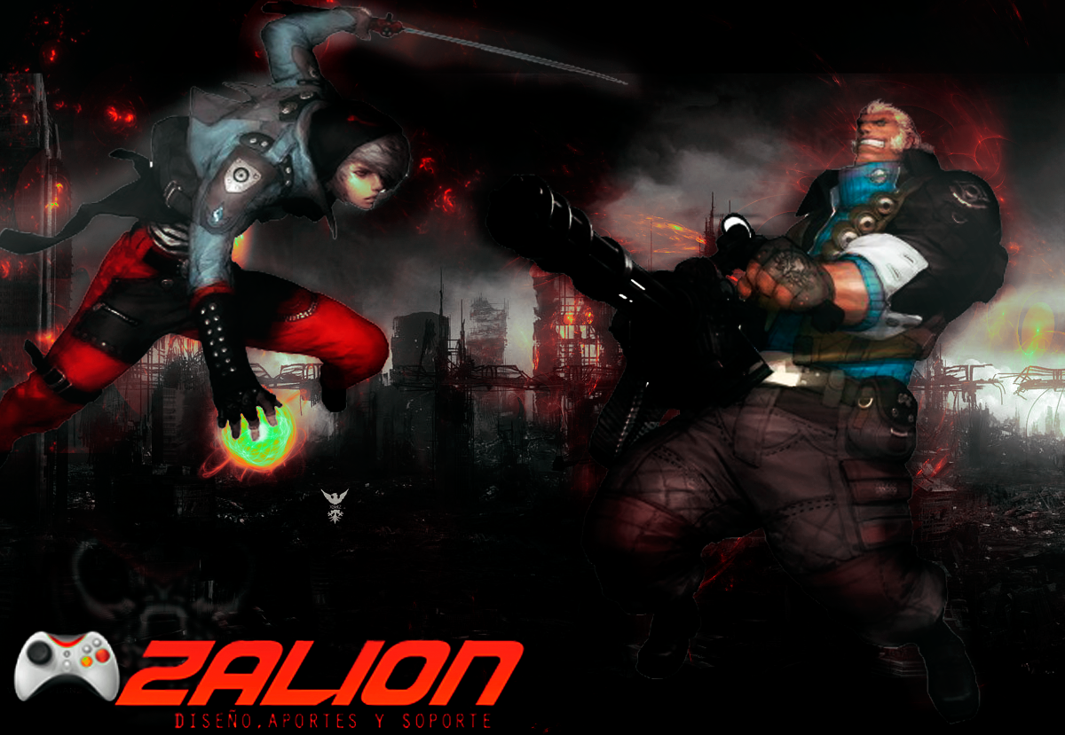 Zalion Wallpaper Gunz The Duel