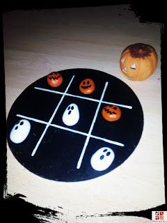 juego con piedras pintadas