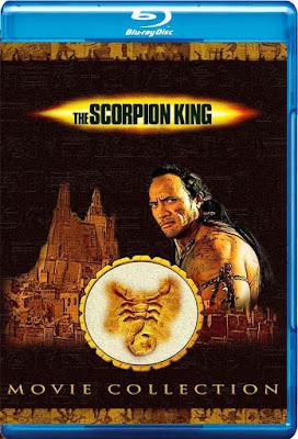 COMBO The Scorpion King Coleccion DVD HD Dual Latino 5.1 + Sub 2xDVD5