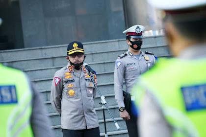 Kakorlantas Polri Lepas Tim Pengamanan Libur Idul Adha
