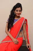 tejaswini sizzling photos in saree-thumbnail-12
