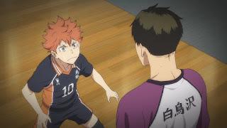 ハイキュー!! アニメ 3期8話 日向翔陽   Karasuno vs Shiratorizawa   HAIKYU!! Season3