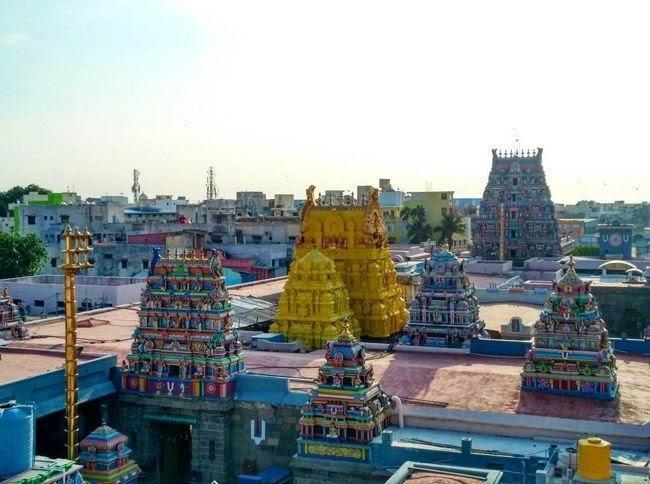 Sri Parthasarathyswamy Temple Towers