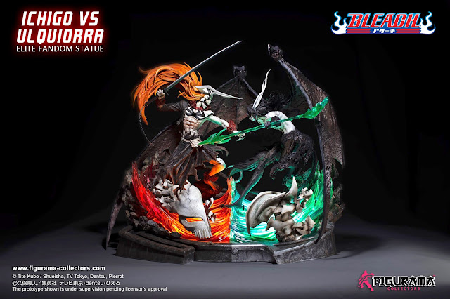 Bleach Ichigo VS Ulquiorra de Figurama Collectors