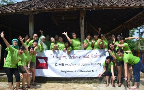 outbound Bank CIMB Jawa Timur di Jogja