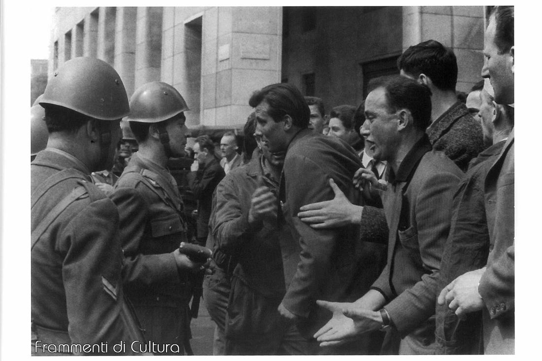 Sciopero dei lavoratori della Breda, 6 giugno 1961 Fotografo Enrico Cattaneo