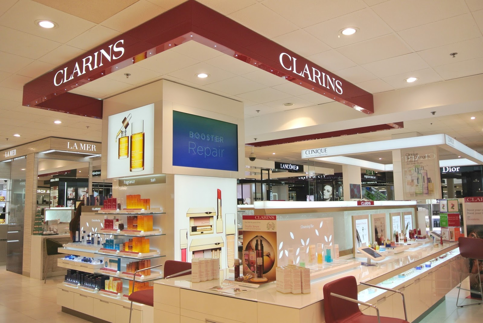 Clarins Skin Analysis House of Fraser Metrocentre Skin care