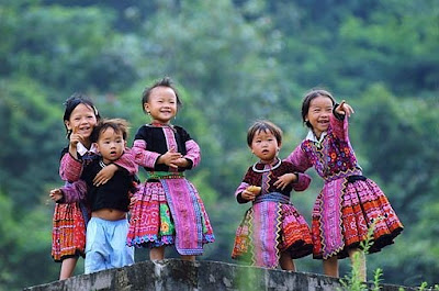 Hyperactive Sapa children