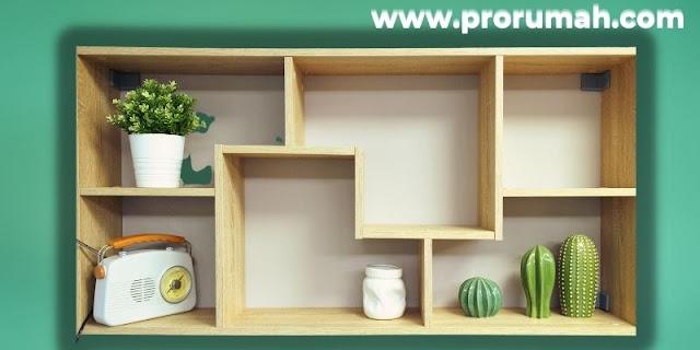 Jenis-jenis Furniture Untuk Hunian Modern - rak dinding