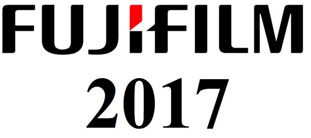 Новинки Fujifilm в 2017 году