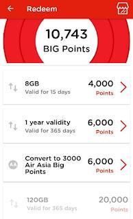 Cara untuk tebus (redeem) tiket flight Air Asia guna mata ganjaran Tune Talk (ToneExcel)
