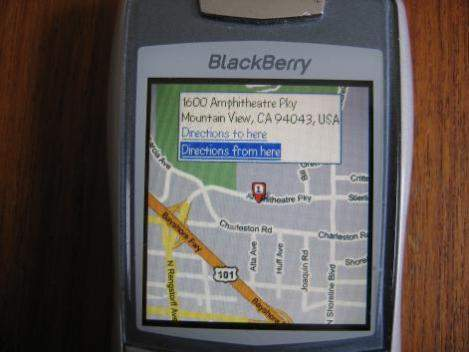 Google Maps For Blackberry Application Free Download