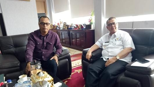 Wagub dan Bupati Yudas Rapat Persiapan Kunjungan Kepala BNPB ke Mentawai