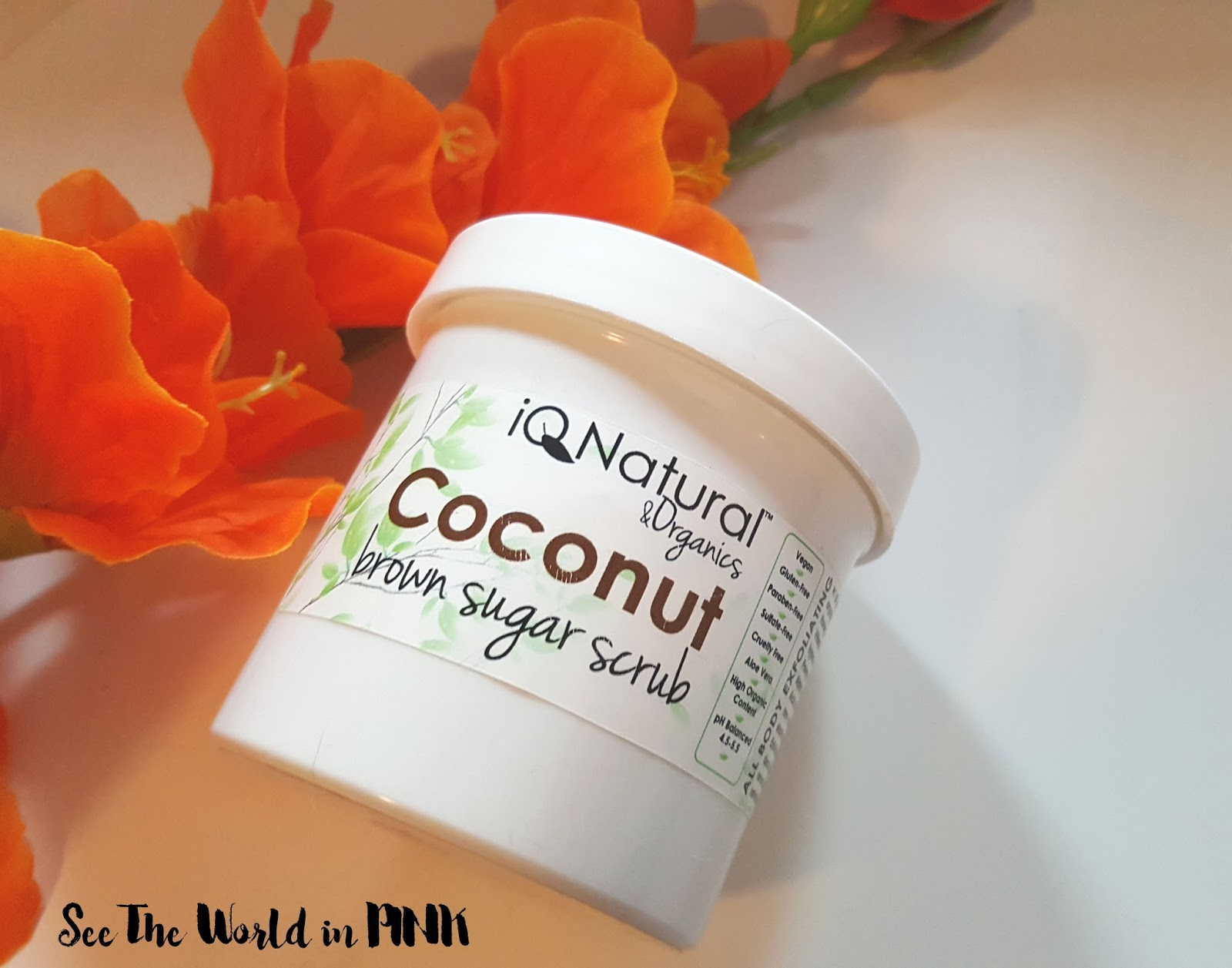Skincare Sunday - IQ Natural Coconut Sugar Scrub