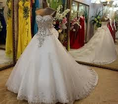 Diamond Wedding Gown