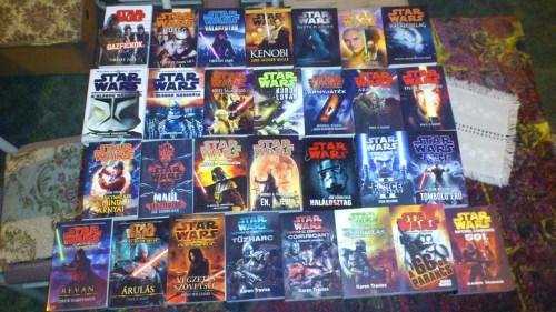 Blitzer Csaba Star Wars könyvei