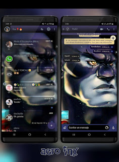 Super Hero Theme For YOWhatsApp & Fouad WhatsApp By Ave fénix
