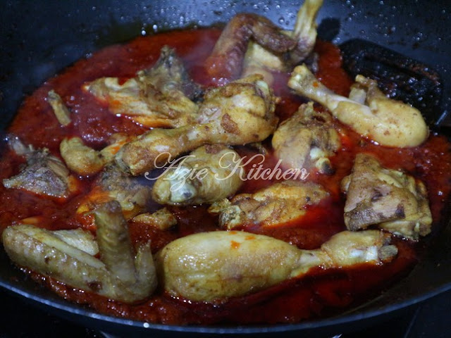 Nasi Minyak dan Ayam Masak Merah Sangat Sedap (A Keeper Recipe)