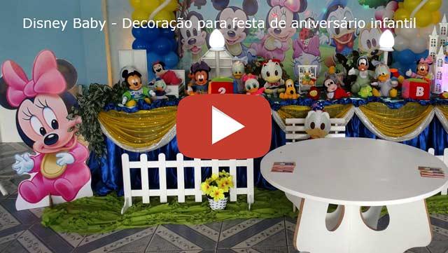 Vídeo Baby Disney tradicional