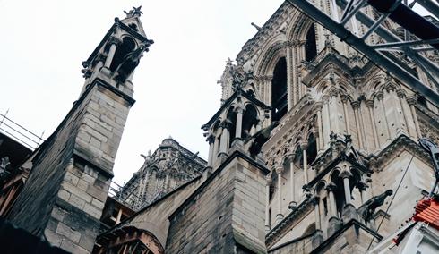 Notre Dame Rebuild 2021