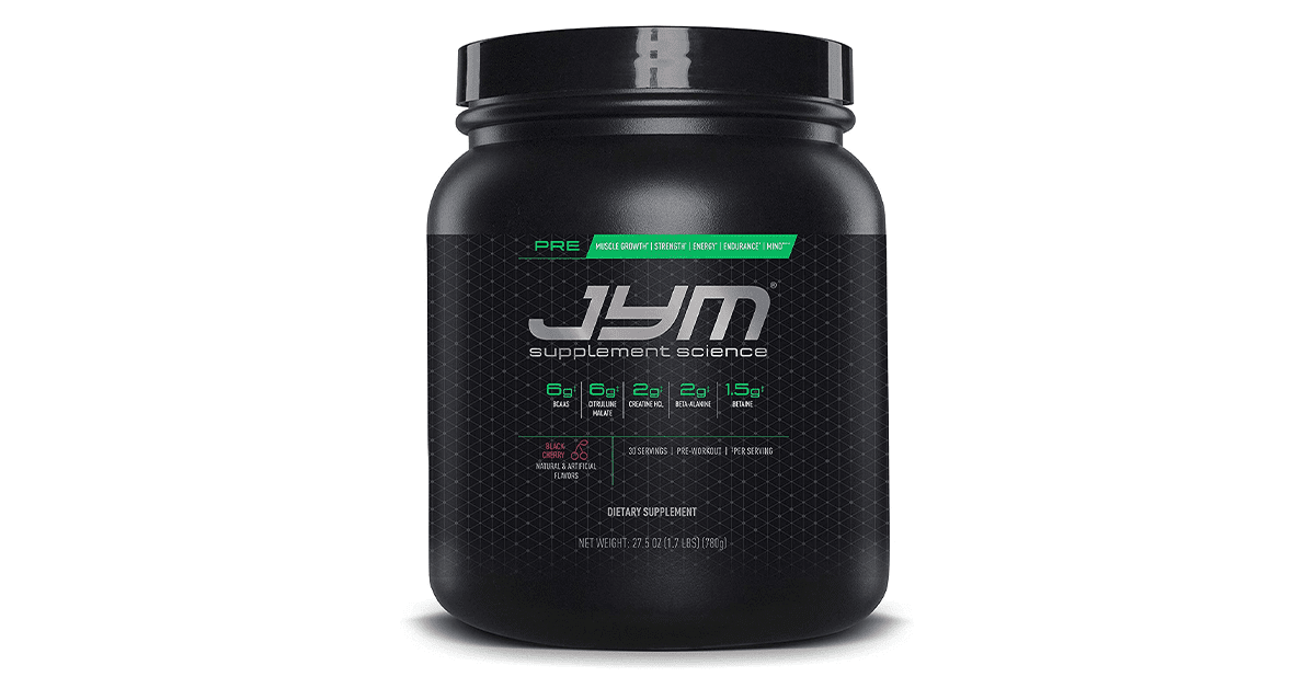 Fitcanal Pre JYM Pre Workout Powder BCAAs