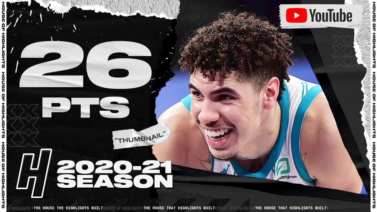 LaMelo Ball 26pts 7ast vs LAL | March 18, 2021 | 2020-21 NBA Season
