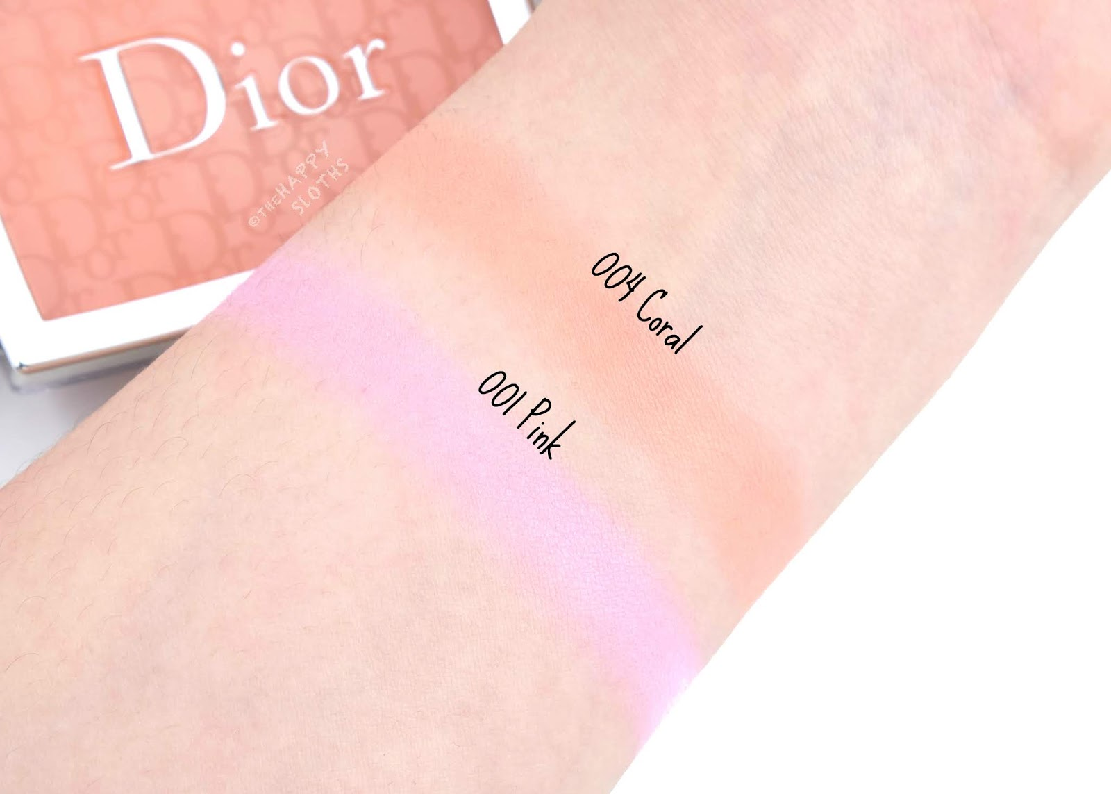 "Dior | Spring 2020 Glow Vibes Collection | Dior Backstage Rosy Glow Blush in ""001 Pink"" & ""004 Coral"": Review and Swatches"