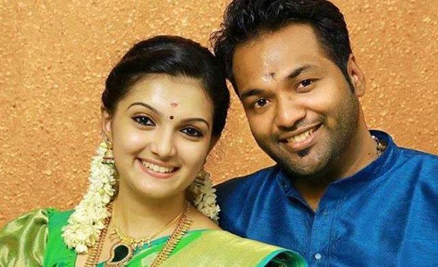 Saranya Mohan Family Photo