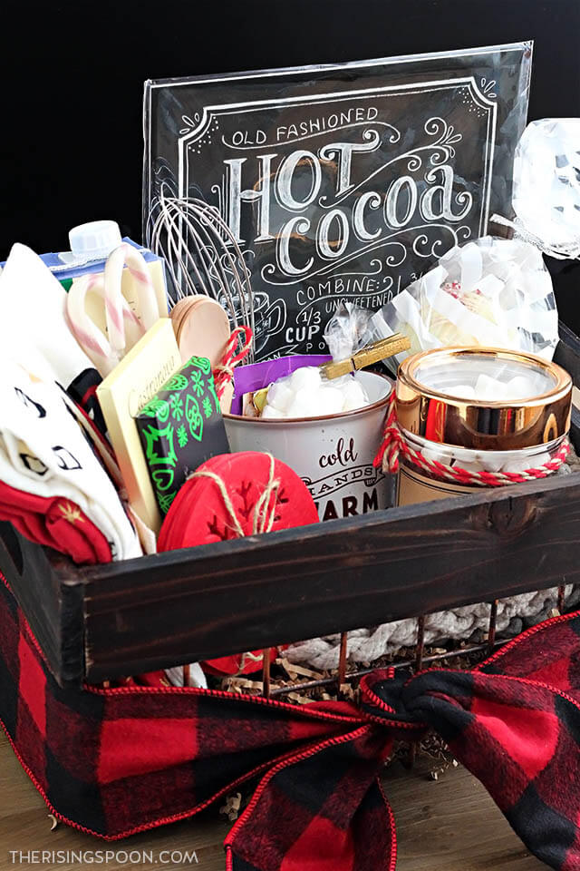 Homemade Hot Cocoa Gift Basket The Rising Spoon