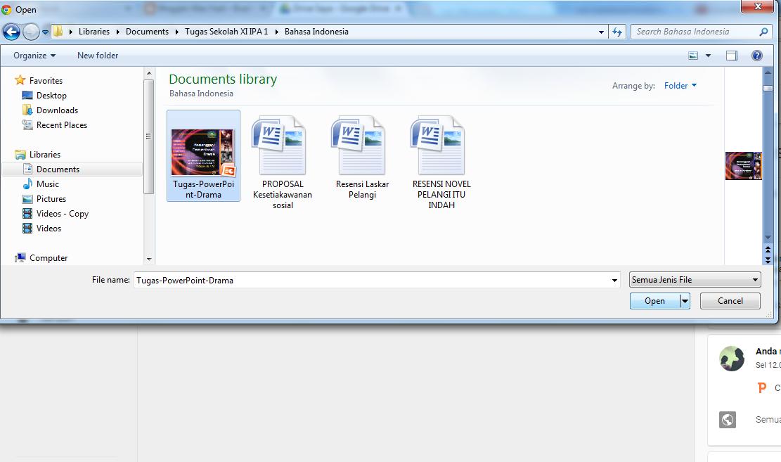 Cara Memasang File PowerPoint di Blog Dengan Google Drive
