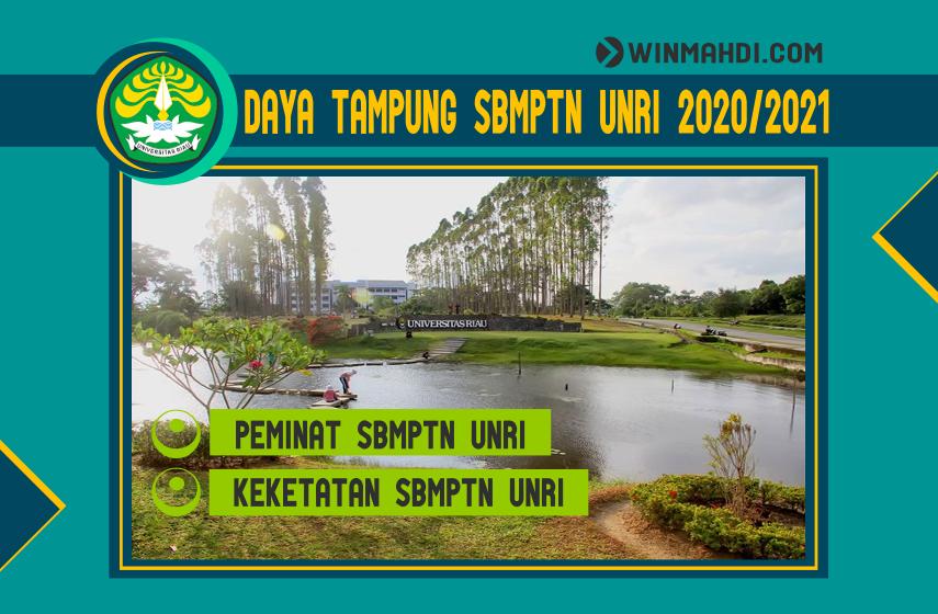 DAYA TAMPUNG SBMPTN UNRI 2020-2021