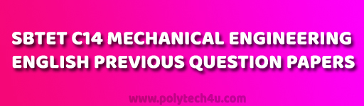 C-14-M-101 English old question papers pdf  download