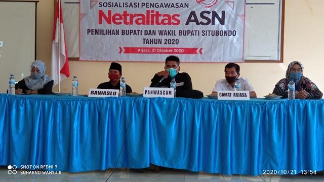 Bawaslu Situbondo Adakan Sosialisasi Pengawasan Netralitas ASN