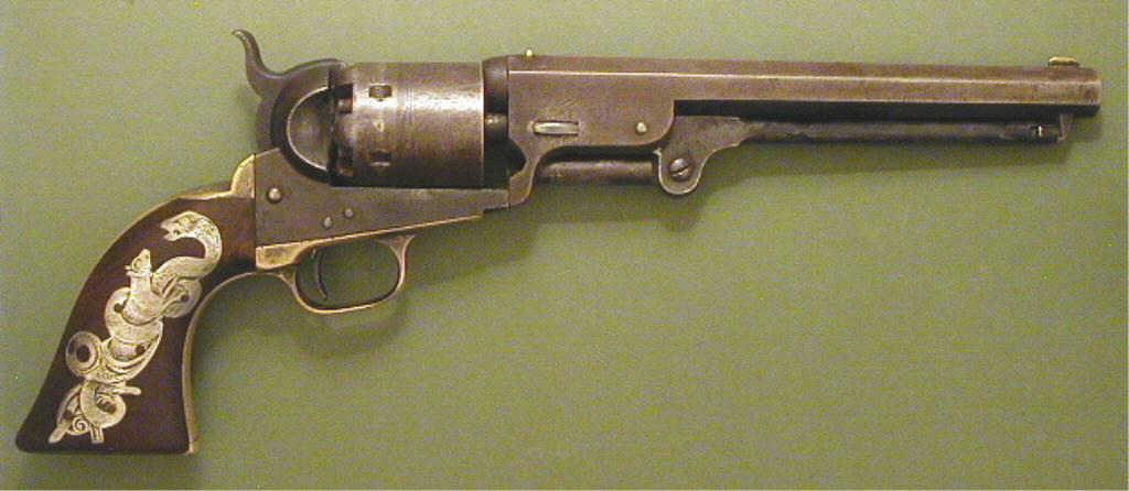 deadly 1851 colt navy revolver army and weapons