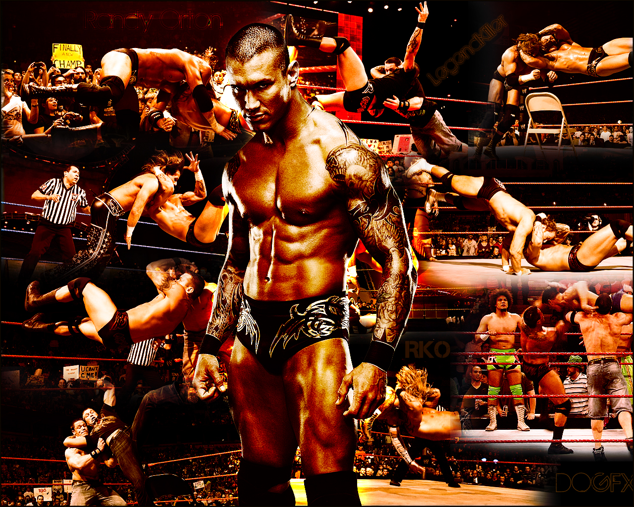 WWE | SmackDown | Wrestlemania: wwe randy ortan new wallpapers