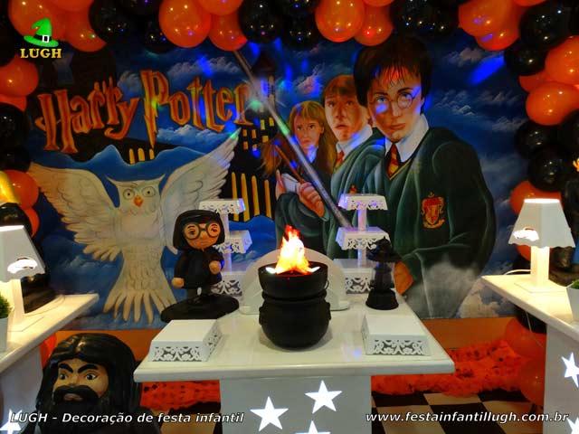 Decoração infantil Harry Potter - Festa de aniversário